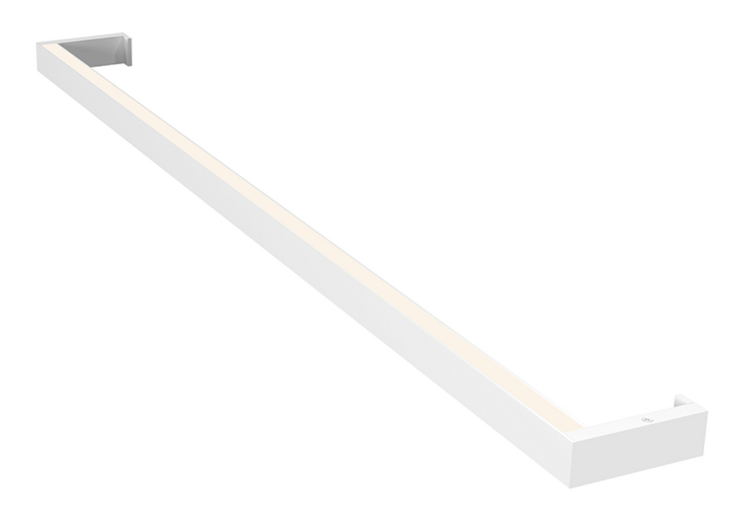 Thin-Line 3' One-Sided LED Wall Bar Satin White-furniture stores regina-Hunters Furniture