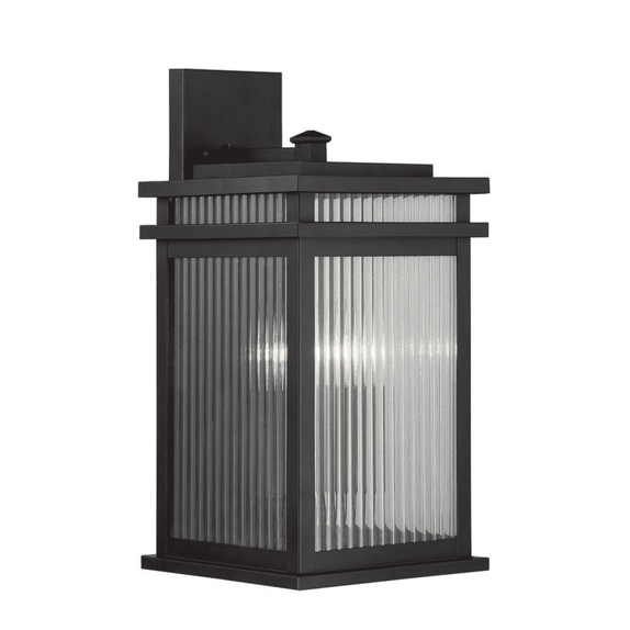 "(Item Discontinued) Radford 8 1/2"" Wall Lantern English Bronze-furniture stores regina-Hunters Furniture"