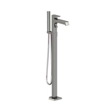 MISTO FLOORMOUNT TUB FILLER W/HANDSHOWER CHROME