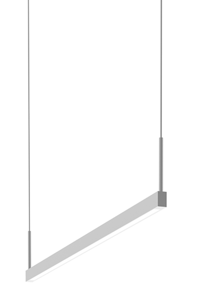 Thin-Line 3' One-Sided LED Pendant Satin White-furniture stores regina-Hunters Furniture