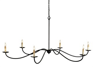 Saxon Chandelier Currey In A Hurry-furniture stores regina-Hunters Furniture