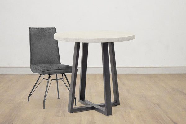 "BERLIN Grey Poly Resin - 32"" Dining Table"
