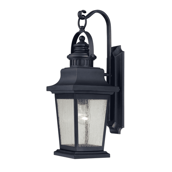 (Item Discontinued) Barrister Wall Mount Lantern Slate-furniture stores regina-Hunters Furniture