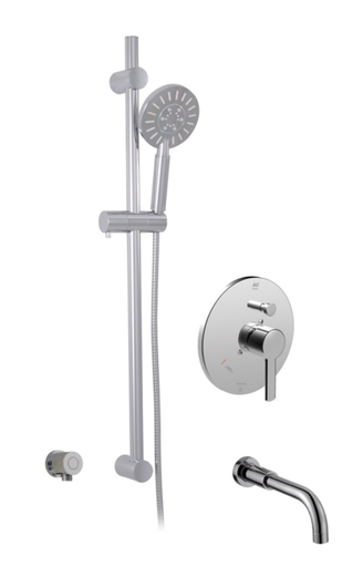 CIRCO THERMONE TUB/SHOWER SYSTEM CHROME