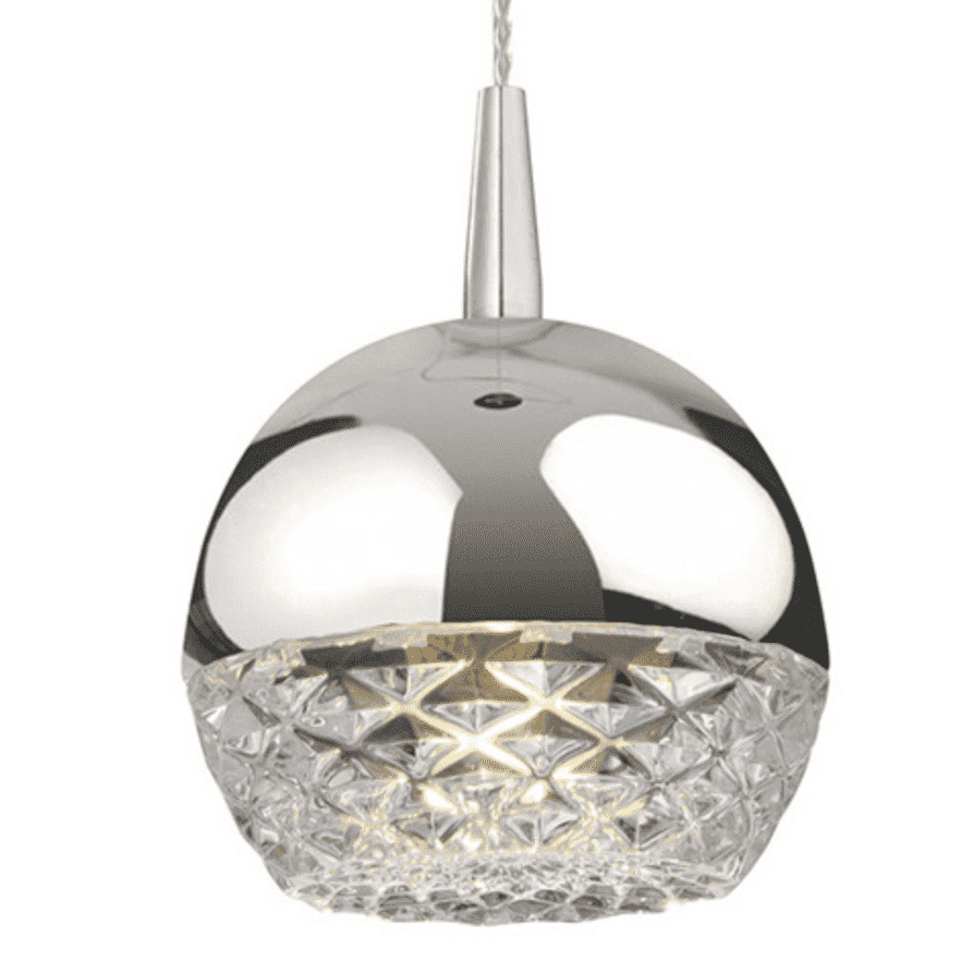 QUARTZ PENDANT LIGHTING CLEAR-furniture stores regina-Hunters Furniture
