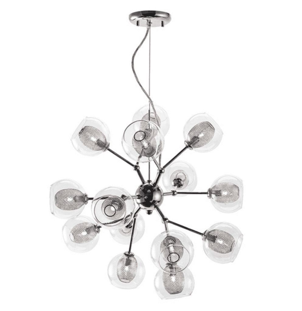 (Item Discontinued) ESTELLE 14 PENDANT LIGHTING-furniture stores regina-Hunters Furniture