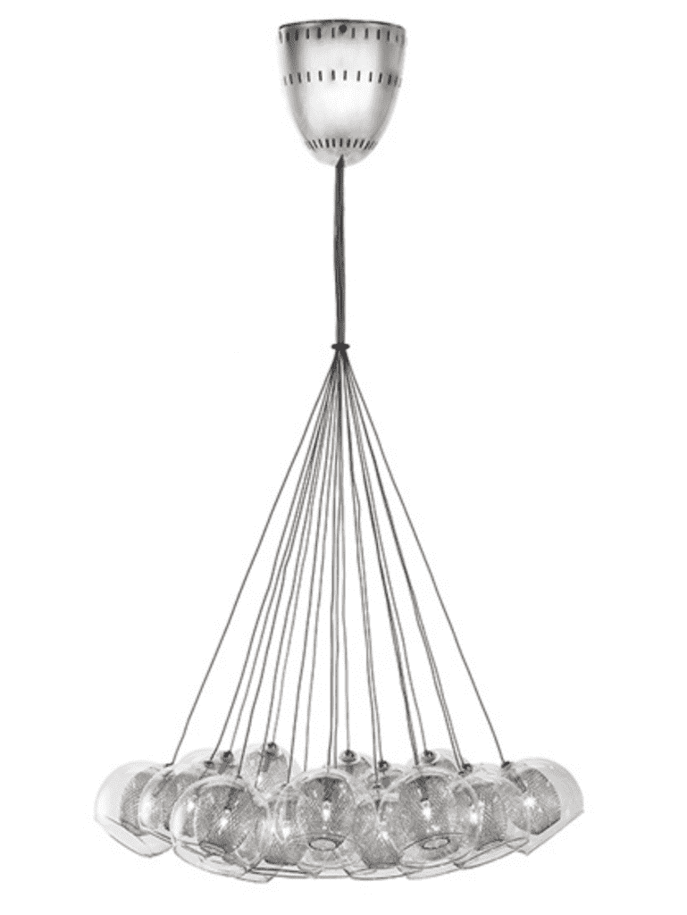 (Item Discontinued) ESTELLE 19 PENDANT LIGHTING-furniture stores regina-Hunters Furniture