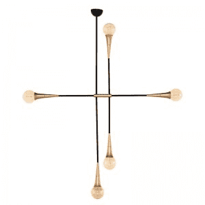 TRISTAN PENDANT LIGHTING BLACK-furniture stores regina-Hunters Furniture