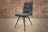 TORONTO Dark Grey Fabric - Dining Chair-furniture stores regina-Hunters Furniture