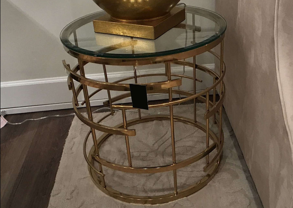 Dior End Table (2 Boxes)-furniture stores regina-Hunters Furniture