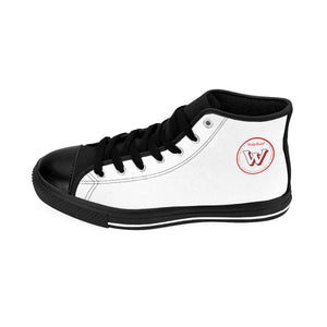 Women's Weekly Humorist Team High-top Sneakers White