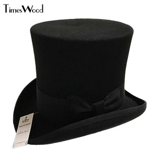 Wellington Wool High Top Hat