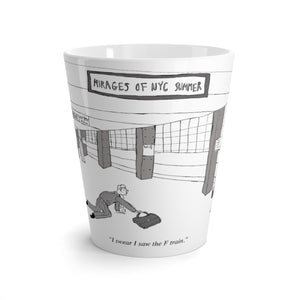 Mirages of NYC Summer Latte mug
