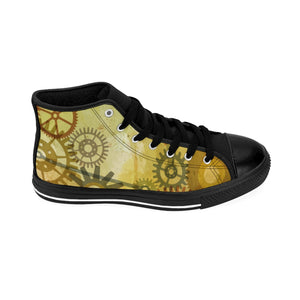 Men's Steampunk High-top Sneakers