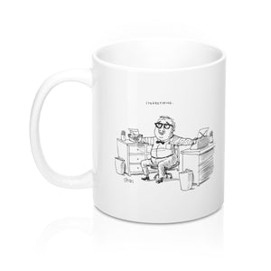Stereotyping Cartoon Mug 11oz