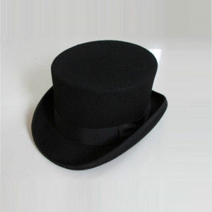 British Steam Wool Top Hat