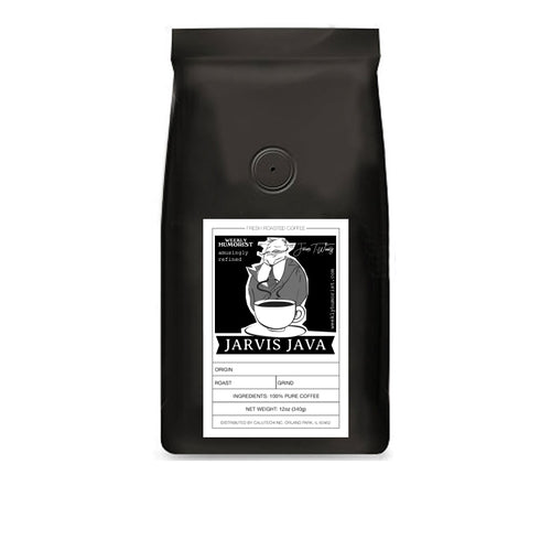 Weekly Humorist's Jarvis Java Brazil Single-Origin Coffee