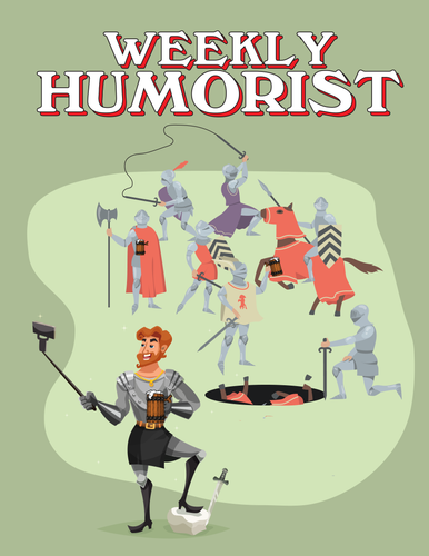 Weekly Humorist Magazine: Issue 133