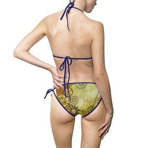 Women's Steampunk Bikini Swimsuit