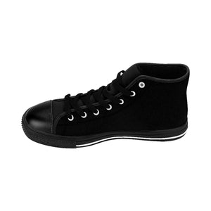 Men's Weekly Humorist Team High-top Sneakers Black