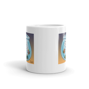 Final Flush Cartoon Mug
