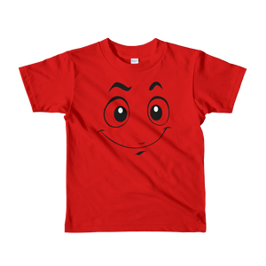 Smile Face Short sleeve kids t-shirt