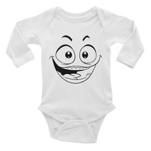 Happy Face Infant Long Sleeve Bodysuit