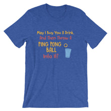 Drafting The Team Beer Pong T-Shirt