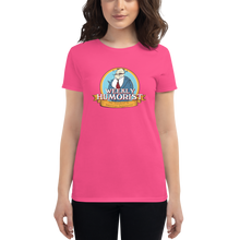Weekly Humorist Crest Logo Women's short sleeve t-shirt