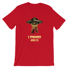 I Stormed Area 51 Short-Sleeve Unisex T-Shirt