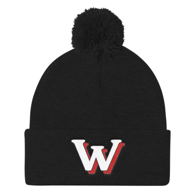 Weekly Humorist Team Pom Pom Knit Cap