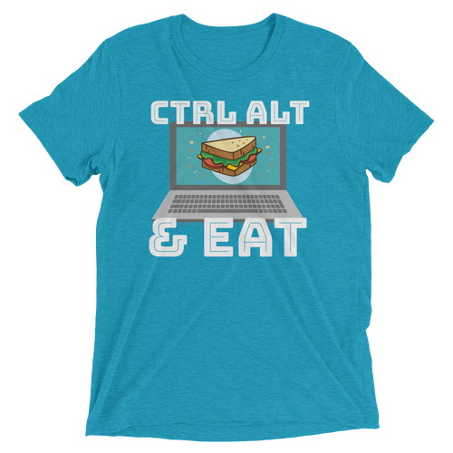 CTRL ALT & EAT Short sleeve t-shirt