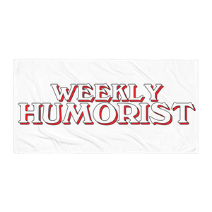 Weekly Humorist Towel