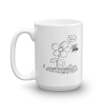 Flower Power Cartoon Mug