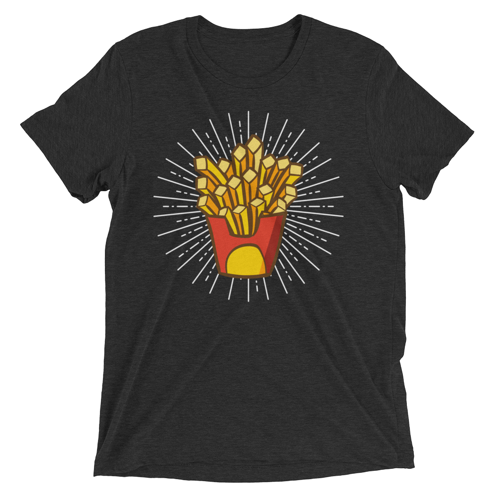 FRIES! Short sleeve t-shirt