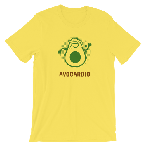 Avocardio Short-Sleeve Unisex T-Shirt