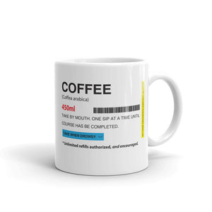 Coffee Prescription Mug