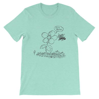 Flower Power Short-Sleeve Unisex T-Shirt