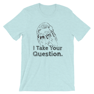 'I Take Your Question' Robert Mueller Short-Sleeve Unisex T-Shirt