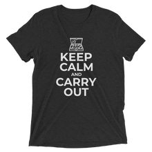 Keep Calm and Carry Out Short Sleeve T-Shirt