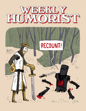 Weekly Humorist Magazine: Issue 123