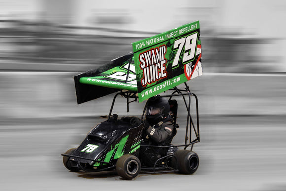 SwampJuice Sponsors Active Duty Air Force Racer
