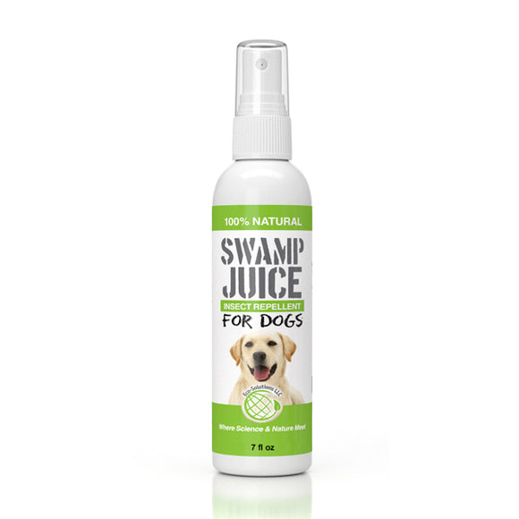 SwampJuice All-Natural Insect Repellent for Dogs
