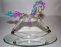 Colorful Rocking Horse