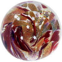 Fireball Red Sky Paper Weight