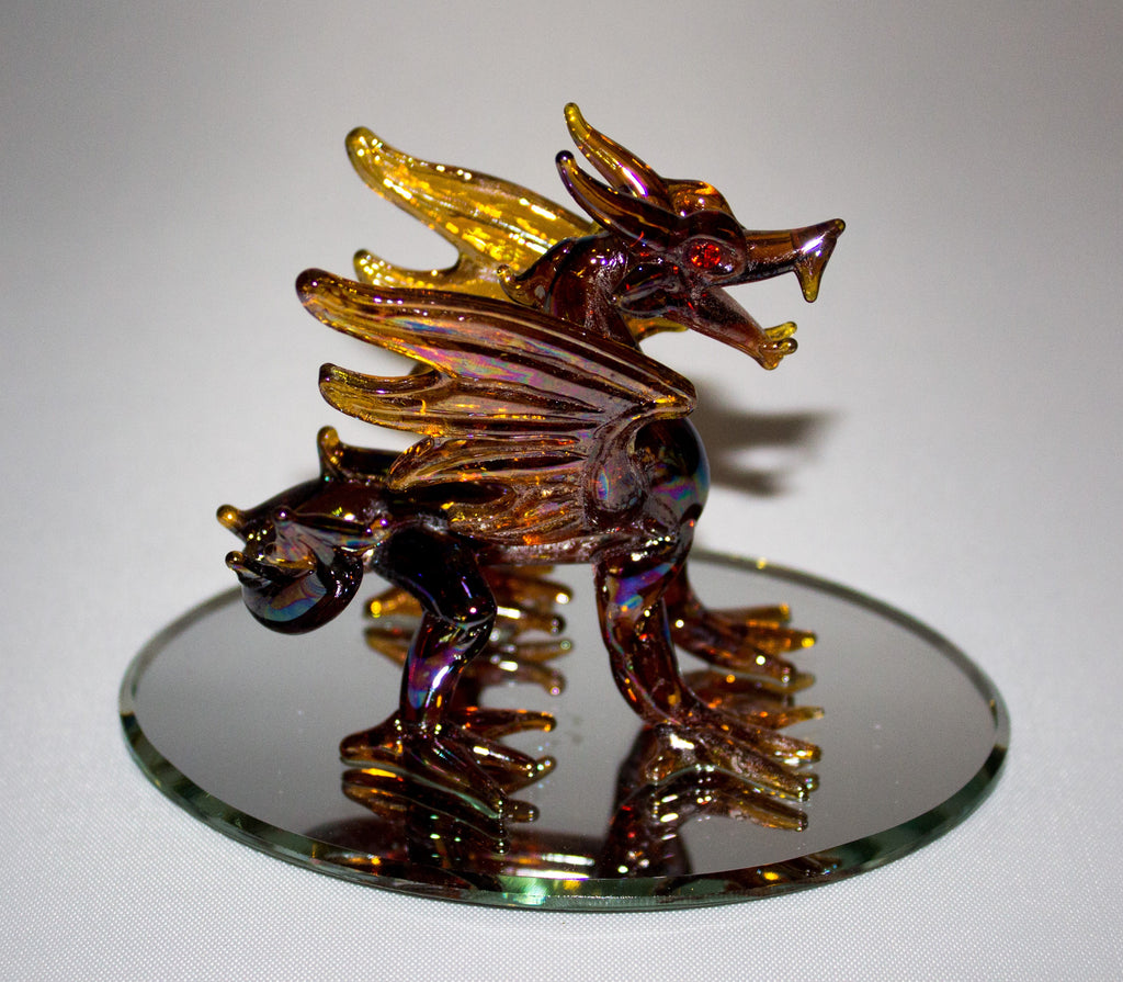 Small Amber Dragon