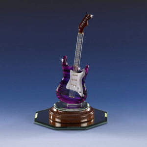 Purple Electric Rock Guitar