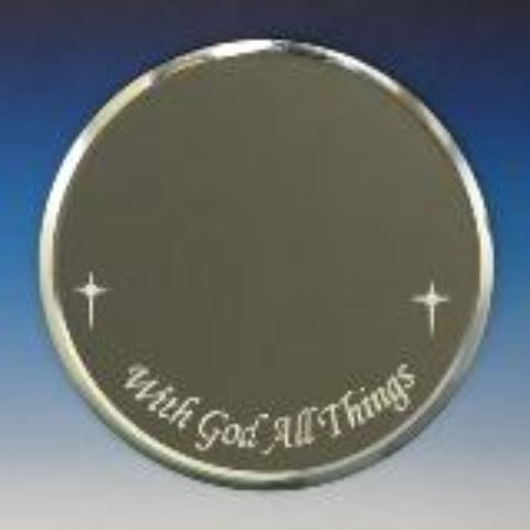 "Mirror-4"" ""With God All Things"""