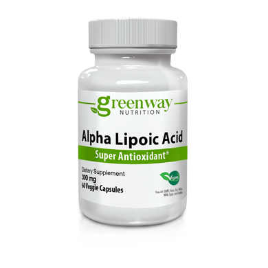 Alpha Lipoic Acid 300mg 60 Vegan Capsules