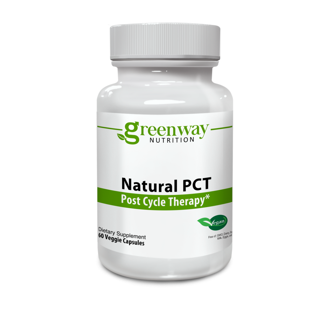 Natural PCT 60 Vegan Capsules